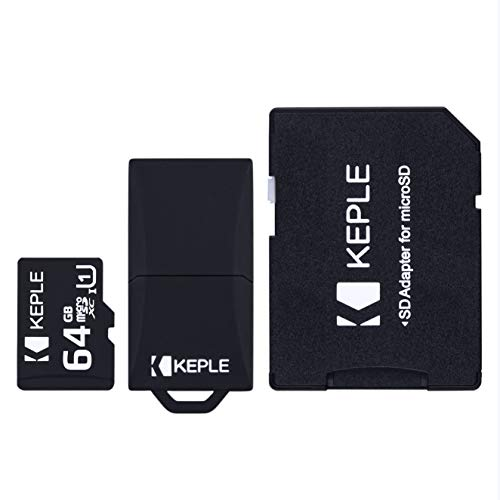 Carte Micro SD 64Go | 64GB MicroSD Compatible avec Samsung Galaxy s9+ S9 S8 S7 S6 S5 S4 S3, J9 J8 J7 J6 J5 J3 J2 J1, A9 A8 A7 A6 A6+A5 A4 A3, Note 9 8 7 6 5 4 3 2, Grand Prime, Pro, Edge | 64 Go GB G