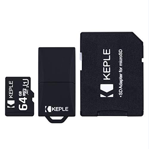 64GB Micro SD Speicherkarte MicroSD Kompatibel mit Samsung Galaxy s9+ S9 S8 S7 S6 S5 S4 S3, J9 J8 J7 J6 J5 J3 J2 J1, A9 A8 A7 A6 A6+A5 A4 A3, Note 9 8 7 6 5 4 3 2, Grand Prime, Pro, Edge Handy | 64 GB