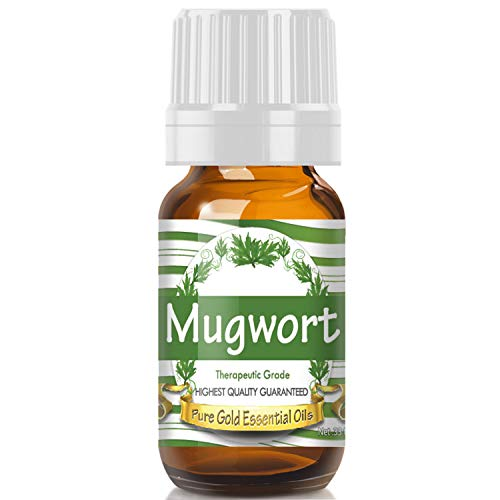 Pure Gold Mugwort Essential Oil, 100% Natural & Undiluted, 10ml