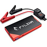 FYLINA Car Jump Starter,600-800A Peak 8500mAh Car Battery Booster( Up to 5.0L Gas,3.0L