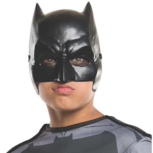 Rubie's 32544 - Maschera ufficiale di Batman Dc Comics Warner Bros Dawn of Justice, per bambini, taglia unica