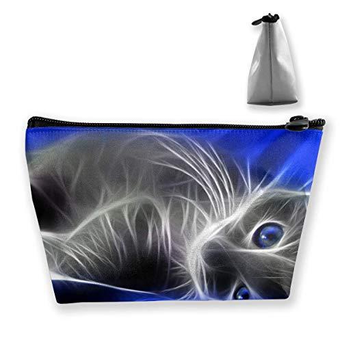 Cat Portable Maquillage Sac de Rangement Grande Capacité Sac à Main Travel Wash Bag
