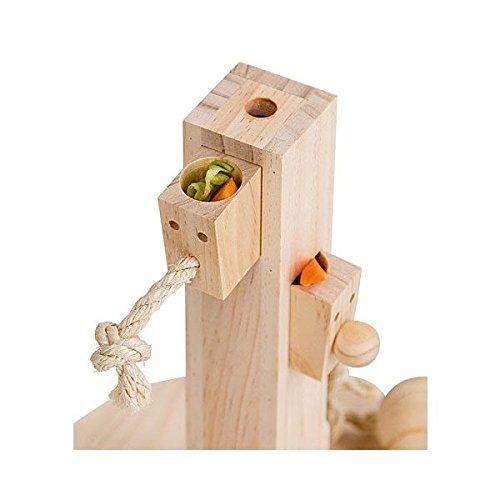 【ALLFORWAN'sLIFE】ドイツKerbl社うさぎちゃんのおもちゃシンキング&ラーニングトイフィードツリー
