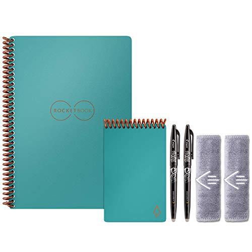 Rocketbook Smart Reusable Notebook Set - Dot-Grid...