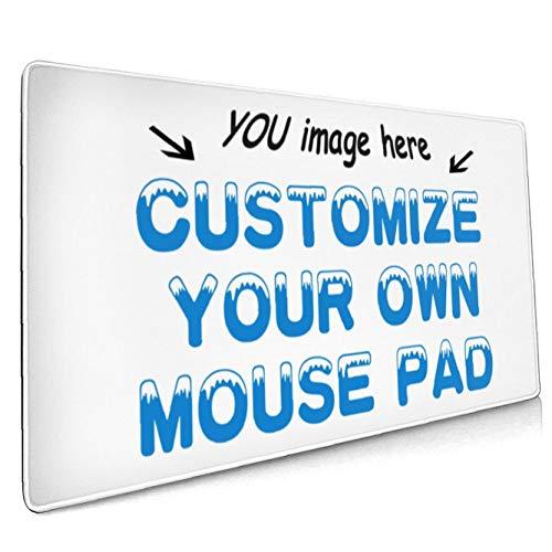 Naisde Personalizado Alfombrilla de ratón Grande, 90x40x3cm Alfombrilla de ratón Grande de Goma para Juegos para PC Resistente a los Gases con Base de Goma Antideslizante Dinero