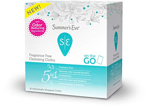 Summer's Eve Summer's Eve Fragrance Free Cloths - 16ea, 16count