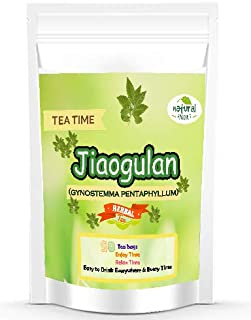 Dried Tea Jiaogulan 50 bags Premium Grade Leaf Gynostemma Pentaphyllum Herbals Immortality Grown in Thailand