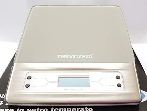 Termozeta Bilancia cucina digitale elettronica Max 5Kg Arancione Perfecta 85856A