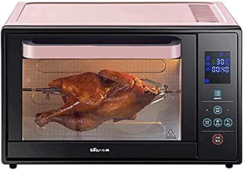 LYXY Cocina Mini tostadora Horno 30L Horno for el hogar con Ajuste de Temperatura 0-230 ° C y Tiempo Inteligente 1600W Puerta Doble de Vidrio