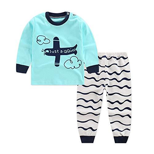 Bold N Elegant - Be Bold Inside & Elegant Outside Unisex-Baby Cotton Cartoon Pyjama Set (BNEKD10097_6-12 Months_Blue)