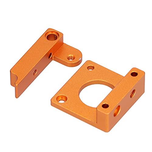 Suporte da Extrusora, Impressora 3D Bloco de Liga de Alumínio Bico Único Jateado Flexível com Acessórios de Parafuso para MK8 para Máquina de Extrusão
