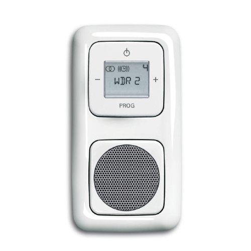 Busch Jaeger Komplett-Set Radio und Lautsprecher Reflex Si alpinweiss