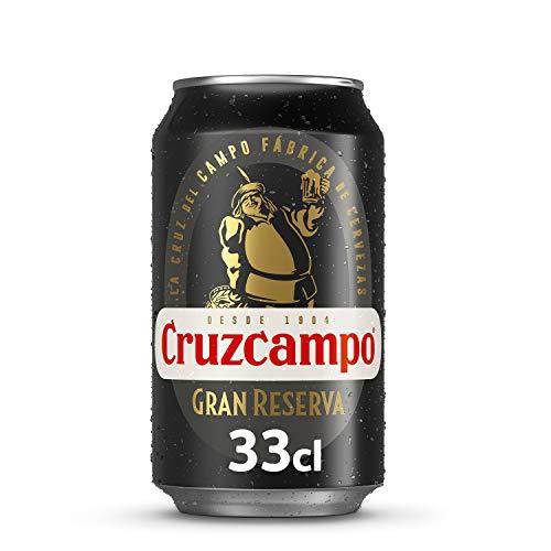 Cruzcampo 1904 Gran Reserva - Bier von Premium Qualität - 0,33 L