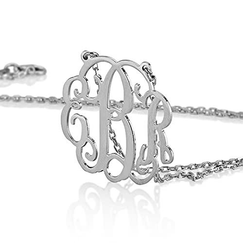 Honeymoon Gift Basket Ideas - Monogram necklace