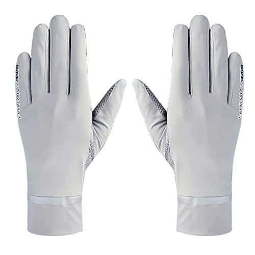 Outdoor Sommer UV Sonnenschutz Handschuhe Fahrradhandschuhe Seide Fingerspitzen-Touchscreen Handschuhe Vollfinger Lace Brautkleider Handschuhe Anti-Rutsch Atmungsative Handschuhe