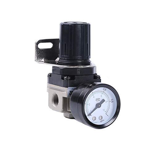 CBLD AR2000-02 SMC Typ Aluminium-Legierung Druckminderer Druckregler Multifunktionale einstellbare zur seitlichen Montage für Wasser