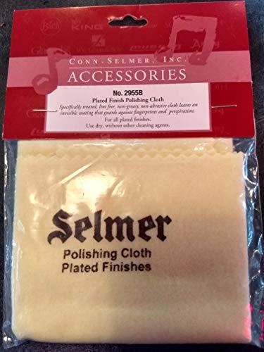 Selmer 2955 - Gamuza para instrumentos de viento metal, color amarillo y plateado