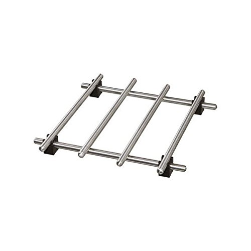 Ikea–Salvamanteles lämplig Sartén Posavasos de Acero Inoxidable–con Patas de Goma–18x 18cm