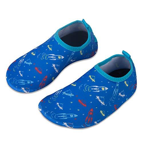 WateLves Chaussures de Bain pour Enfants Chaussures de Plage Chaussures de Natation Antid/érapantes Chaussures de Surf Chaussures de Sport pour Enfants Jardin