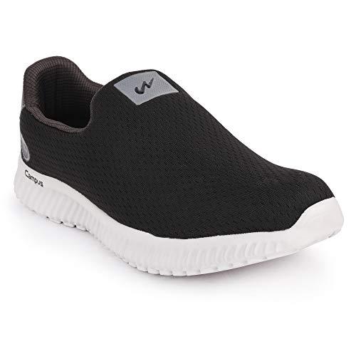 Campus Men's Oxyfit Blk/D.Gry Running Shoes-10 UK/India (44 EU) (CG-02-BLK/D.GRY-10)