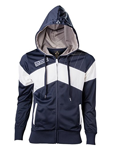 Assassin's Creed Unity - Logo Homme Sweat Capuche - Blue - Taille XX-Large