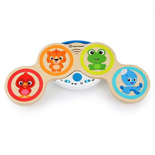 Baby Einstein Magic Touch Wooden Drum Musical Toy, Ages 6 months Plus