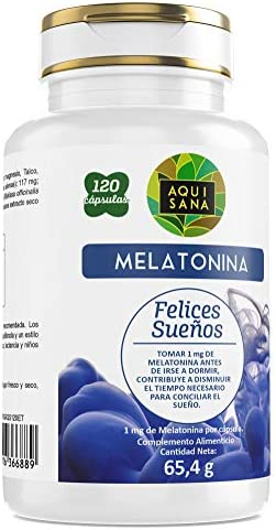 Melatonina 3 mg 120 cápsulas