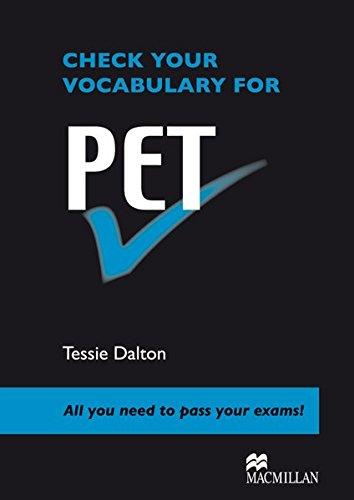Check your Vocabulary for PET: Pre-intermediate and Lower-intermediate / Wortschatz