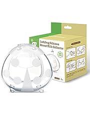 Haakaa Conchas Lactancia Materna - Recolectoras de Leche - Protectoras de Pezones, Silicona sin BPA, Cómodo de llevar, Suave Flexible y Reutilizable (75ml*1pcs)