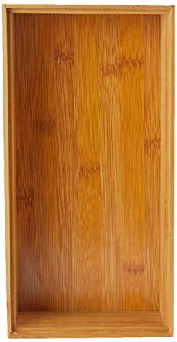 Zeller 13333 Caja para Poner Orden, Madera, Marrón, 30x15x7 cm ...