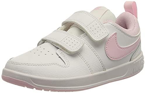 Nike Pico 5, Scarpe da Ginnastica, White/Pink Foam, 31 EU