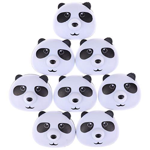 Tedchen Panda Hebilla Hoja de Clip para edredón Antideslizante Funda de edredón de 8 Piezas Clip de retención de Hebilla Antideslizante magnético
