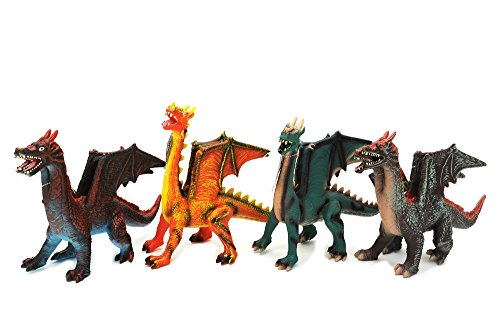 Globo Toys Globo37276 - Dragón Volador Suave (38 cm)