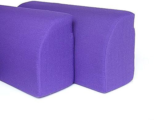 Resingomm Kopfende A Bridge, verwandelt Das Bett in Einem Sofa. ZWeißSpalier + Decke gratis. Produkt, Made in . Farbe lilat