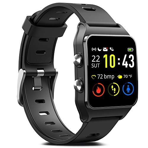 Check Out This GPS Running Smart Watch, IP68 Waterproof Fitness Tracker with 17 Sport Mode, Touch Sc...