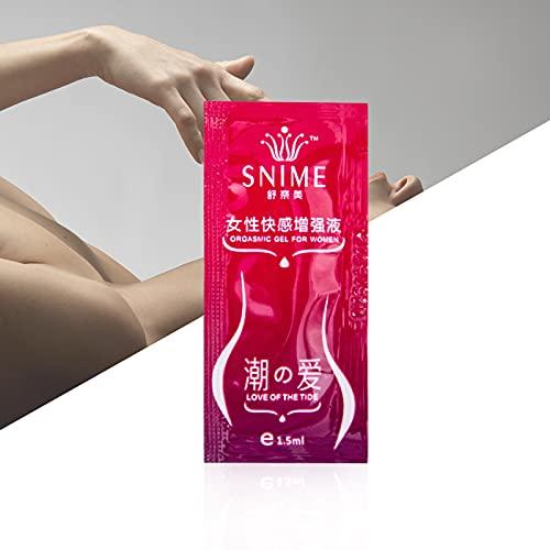 潤滑油 セックス 女性 潤滑ゼリー ローション 女性用 潤滑剤 うるおい快楽エンハンサー液体性的ポータブル女性用 (6ML, Red)