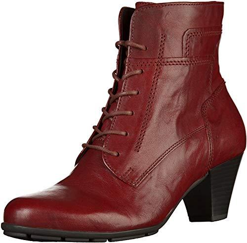 Gabor - Damen Stiefeletten - Rot Schuhe in Übergrößen, Größe:43