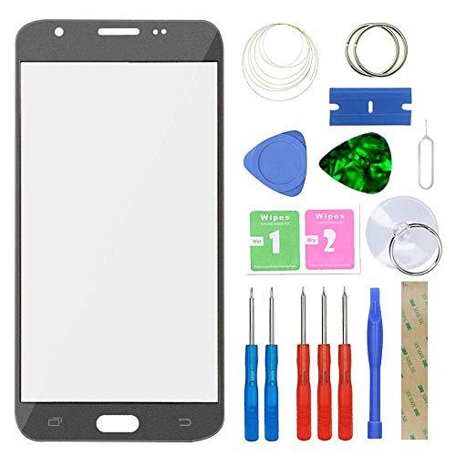 MovTEK Pantalla Repuesto Cristal Tactil Frontal para Samsung Galaxy J7 J730F 2017...