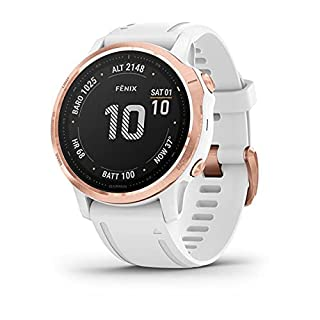 Garmin Fenix 6S Pro, Premium Multisport GPS Smartwatch, Rose Gold With White Band (B07X6GTFS4) | Amazon price tracker / tracking, Amazon price history charts, Amazon price watches, Amazon price drop alerts