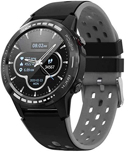 Smart Watch Fitness Tracker con monitor de ritmo cardíaco IP67 resistente al agua, altímetro barómetro, brújula, reloj inteligente deportivo para hombres y mujeres android-verde-negro