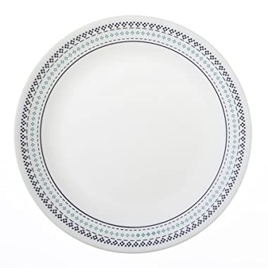 "Corelle Livingware Folk Stitch 10-1/4"" Dinner Plate (Set of 6)"