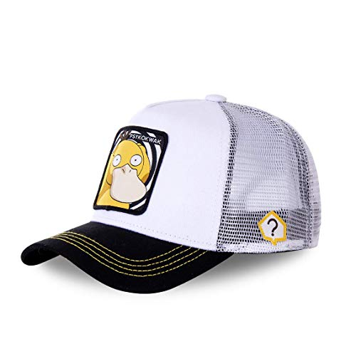 Capslab Psyduck Trucker Cap Pokemon White - One-Size