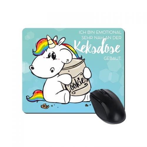 Mousepad - Pummeleinhorn Keksdose