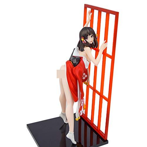 LMIITAM Anime Figur, 25.5cm PVC Heißes Mädchen Garage Kits für Erwachsene
