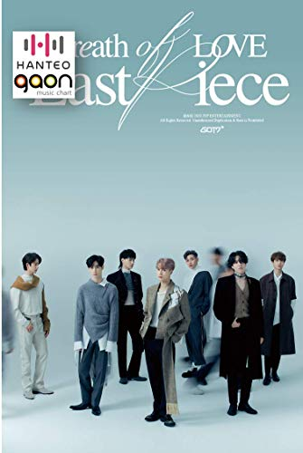 GOT7 - Breath of Love : Last Piece [JB ver.] (4th Album) [Pre Order] CD+Photobook+Folded Poster+Others with Tracking, Extra Decorative Stickers, Photocards