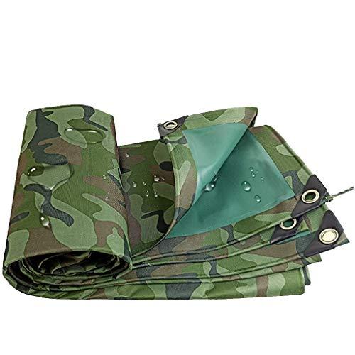 QIURUIXIANG- Lona de lona impermeable Oxford de 3 x 4 m para camping al aire libre (tamaño: 19,7 y veces; 19.7ft) QI-224, Cloruro de polivinilo., 9.8×16.4ft