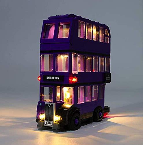 Brücklight LED-Licht-Kit für (LEGO Harry Potter Ritterbus 75957) (Set nicht im Lieferumfang enthalten)