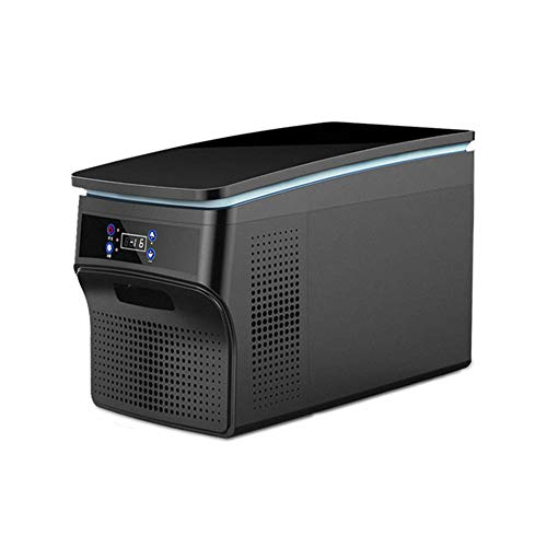 MQYZS Mini Kühlschrank 30 Liter Kühlschrank - mit Temperaturregelung AC / 12V DC Tragbarer Kühler für Schlafzimmer, Kosmetik, Muttermilch, Haushalt und Reisen,Energieeffizienzklasse A