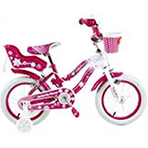 BIKER TOYS Bicicletta Butterfly Flower 16'