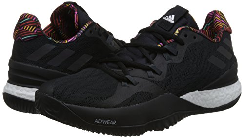 adidas CrazyLight Boost Mens Basketball Shoes - Black-13.5